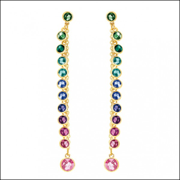 Swarovski Attract穿孔耳環,4,990元。