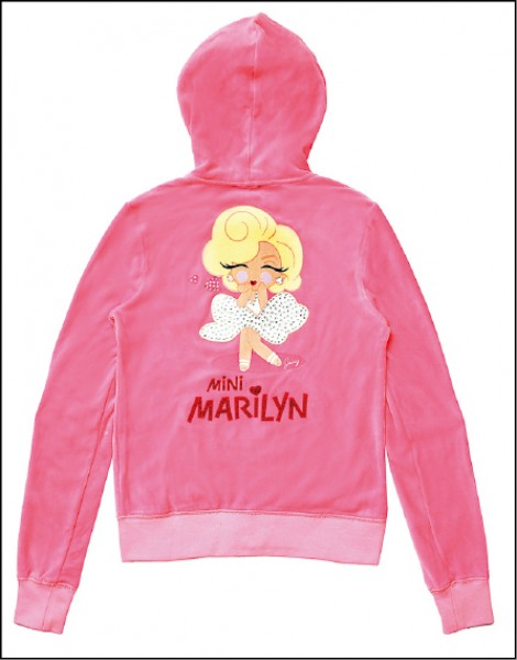 Juicy Couture × Mini Marilyn系列運動外套,18,900元。