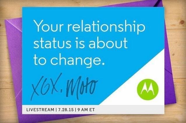Motorola 终于出新手机了!7 月 28 日即�⒎⒉�