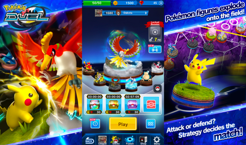 Pokemon Duel android game free download
