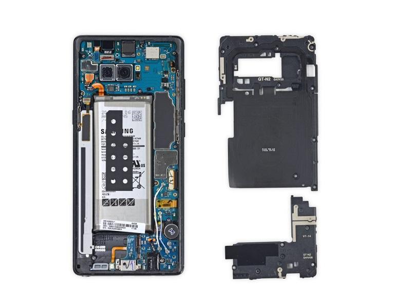 史上最貴的 Android 旗艦機皇有多難修?Note 8 拆解報告出爐!