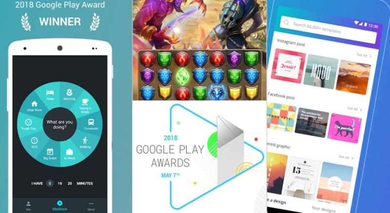 Google Play Awards announced! Certification The best app for