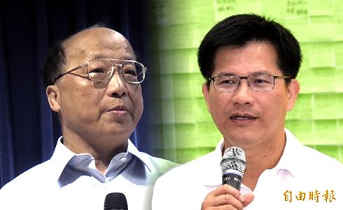 林佳龍胡志強 首度電視辯論