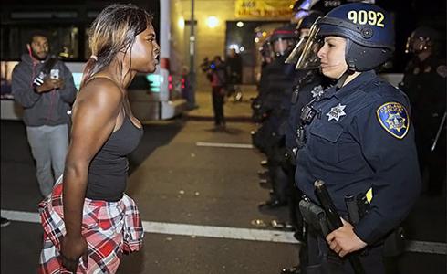 種族衝突再起  全美暴動中