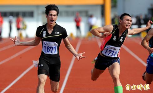 百米跑10秒36 他破全國紀錄