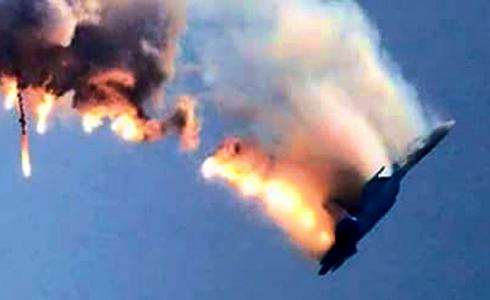 戰機遭擊落 俄部署導彈艦