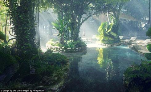 杜拜將建造 熱帶雨林飯店