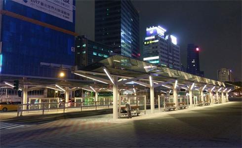 台北交6公車站 明天正式啟用
