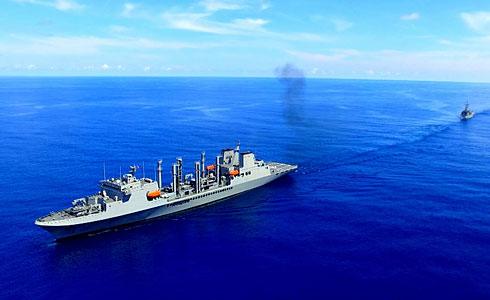 敦睦艦隊航行 磅礡畫面曝光