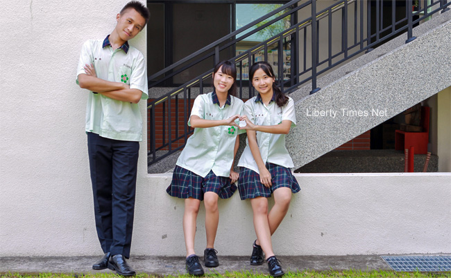 田中高中嫩芽綠 襯托青春有朝氣