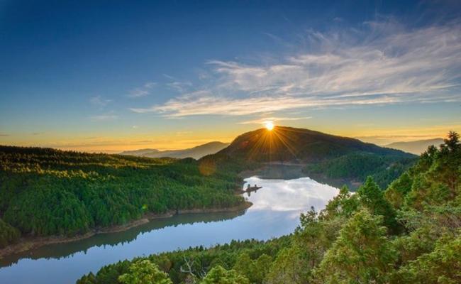 藍寶石鑲鑽日出! 太平山冬季仙境絕景