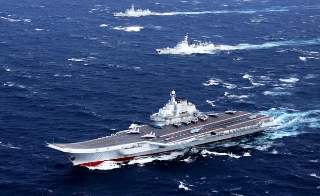 傳遼寧號將穿台海 軍方:全程監控