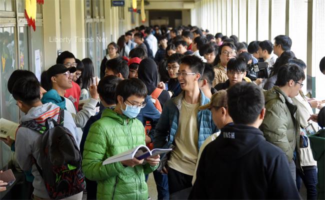 大學學測滿級分259人 創4年最多