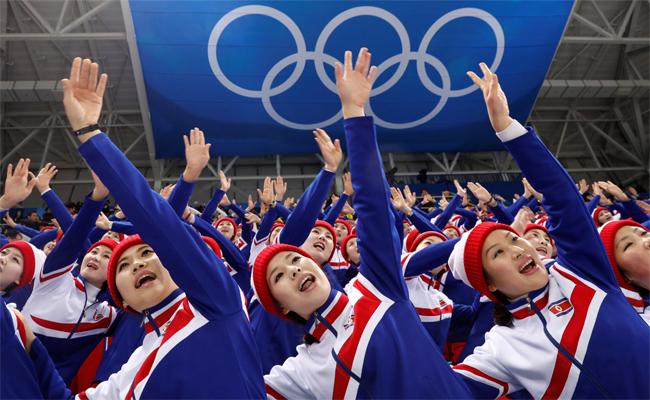 北韓正妹啦啦隊 被爆全是高官性奴