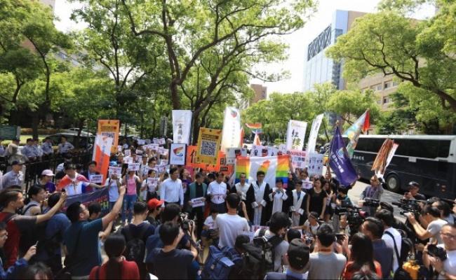 控違法違憲 伴侶盟要求停止反同公投