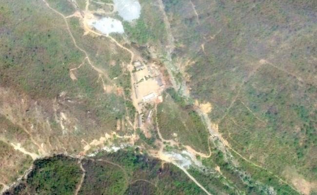 北韓築高台 讓外媒見證核試場爆破秀