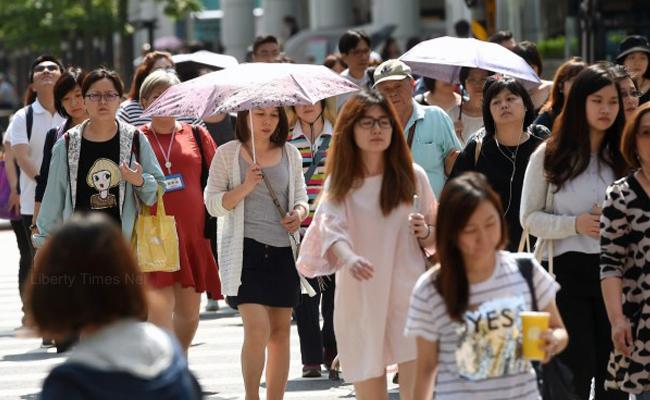 5月均溫飆27.28℃ 創55年來最高紀錄