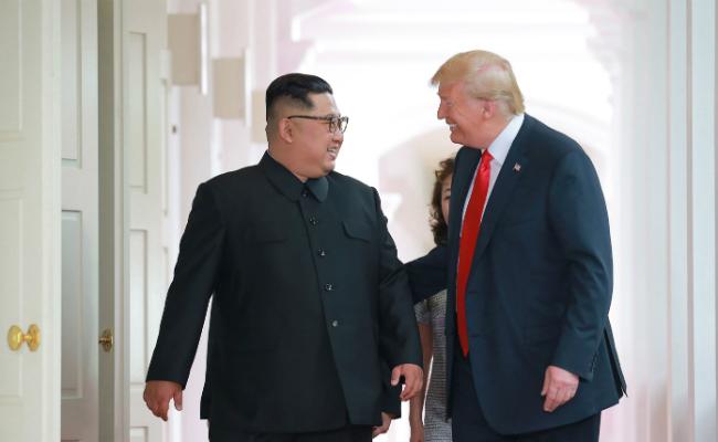 川普威脅北韓 談判失敗就啟動軍演