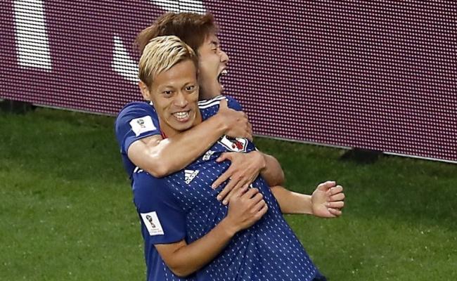 本田圭佑神建功!日本踢平塞內加爾