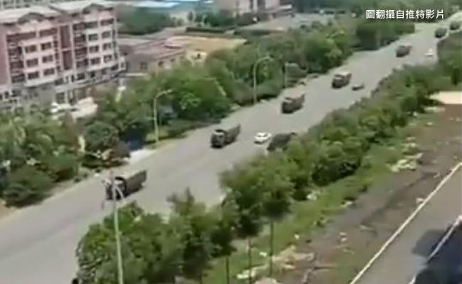 鎮江老兵抗爭擴大 解放軍介入鎮壓