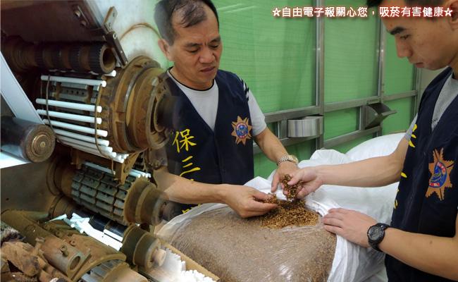 首破大型私菸廠 2中國技師也在列