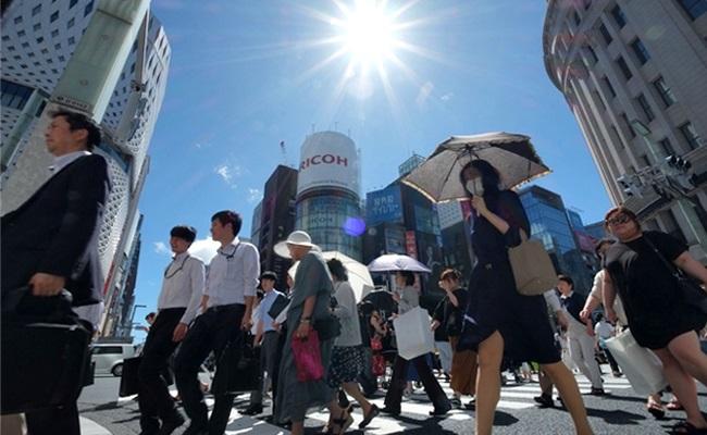 日本高溫飆近40度 6死逾1500人送醫