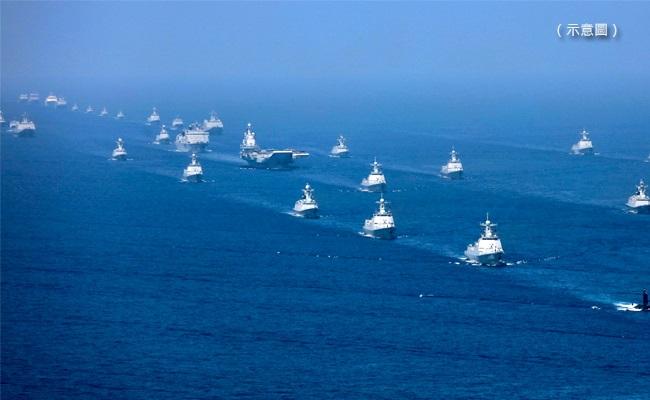 50艘中國軍艦高速通過台海 原因曝光