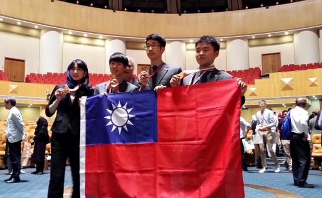 全球第1!生物奧林匹亞台灣奪4金