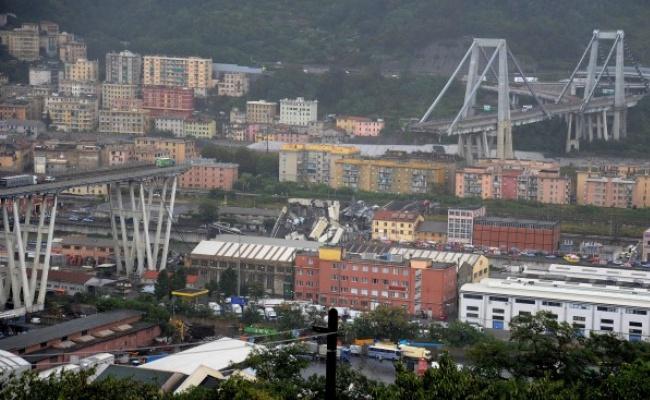 義大利高架橋斷裂 多車跌墜數十死