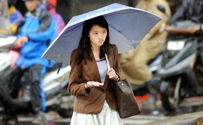 今全台降雨機率高 午後留意局部大雨