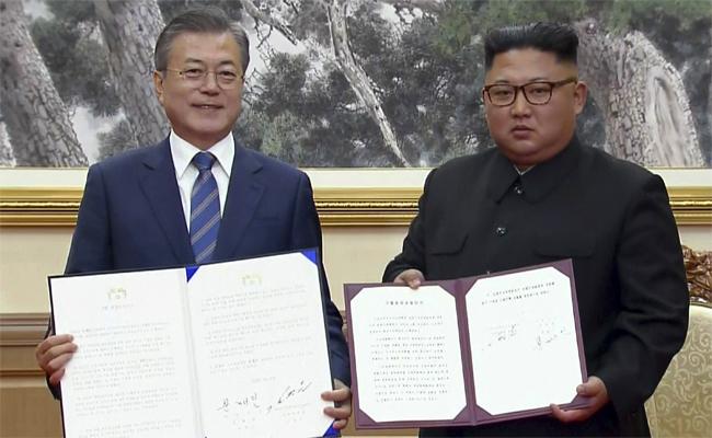 文金簽九月平壤共同宣言 力倡無核