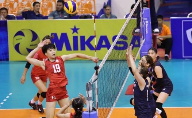 台灣女排出征亞洲盃 贏南韓前進四強
