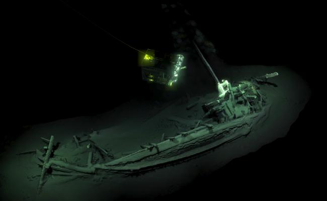距今2400多年 史上最古老完整沉船!