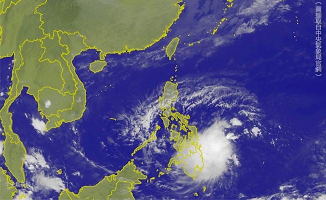萬宜颱風將生成 豐沛水氣選後恐變天