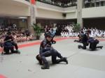 中區警柔道跆拳比賽 中市警局總成績第一