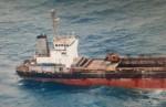 廢棄貨輪擱淺滿州外海 災變中心盼處理