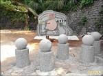 登山步道新石碑 被轟像墓碑