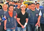 《TAIPEI TIMES 焦點》 Alleged cop killer turns himself in