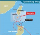 《TAIPEI TIMES 焦點》Tropical storm heads for nation, warnings issued