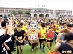 草屯「夜市路跑賽」 4000選手鮮體驗