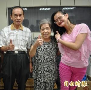 慧慈「歐買尬」 逗笑颱風天遭丟包老夫婦
