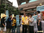 勞團再抗議 要退休金納入擴大墊償