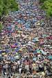 香港爭真普選 萬人大罷課