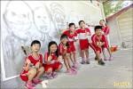 水畫塗鴉牆 學生不怕被罵