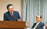 《TAIPEI TIMES 焦點》 MAC minister unfit for job: DPP lawmaker