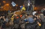 烏克蘭第二大城 拉倒列寧像