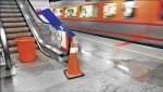 松山站漏水半年 台鐵:明年修好
