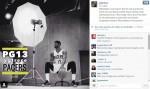 NBA》斷腿恢復神速 喬治現身溜馬媒體日