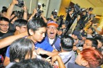 《TAIPEI TIMES 焦點》 Protesters storm HK office in Taipei in a display of solidarity