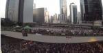 佔中空拍影片 「這一刻香港美極了」